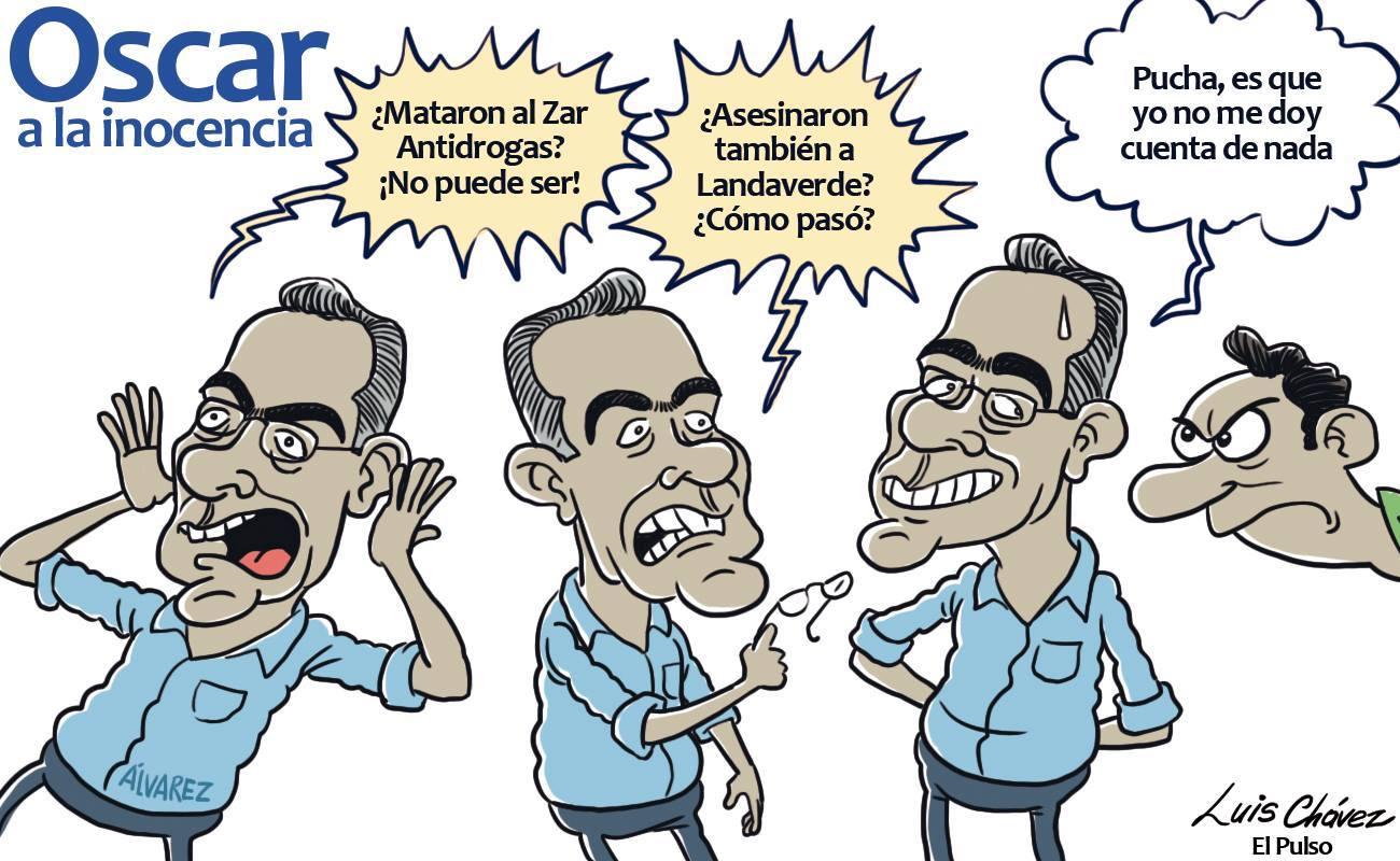 Caricatura: Luis Chávez