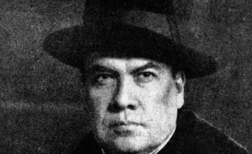 Retrato Rubén Darío