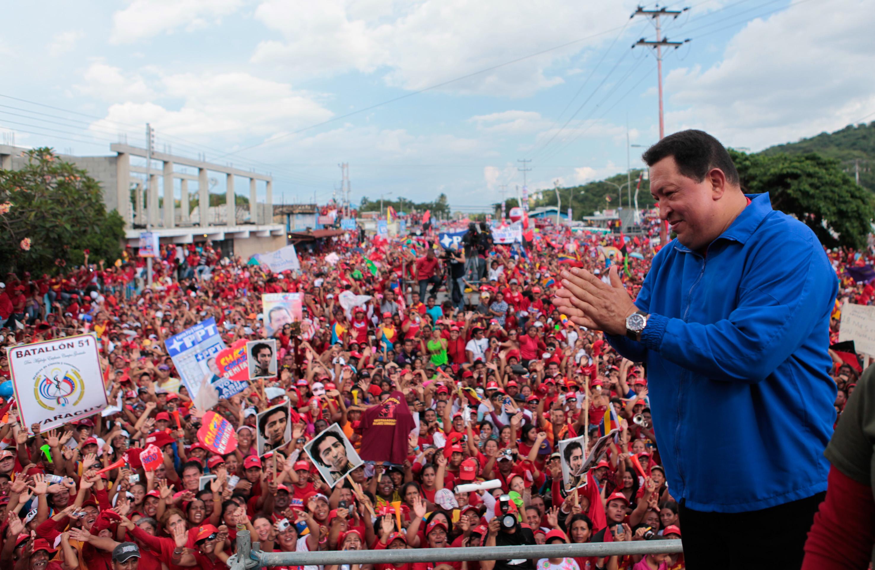 Hugo Chávez Frías.