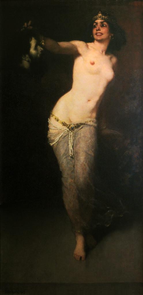 Eder_Gyula_(1875-1945)_Salome_with_head_of_John_the_Baptist,_1907_(Palatul_Culturii,_Tg._Mures,_RO)