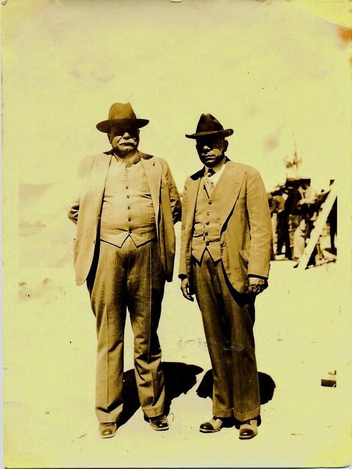 07) Carías y Antonio Bermúdez Meza, Canciller, en Toncontín.