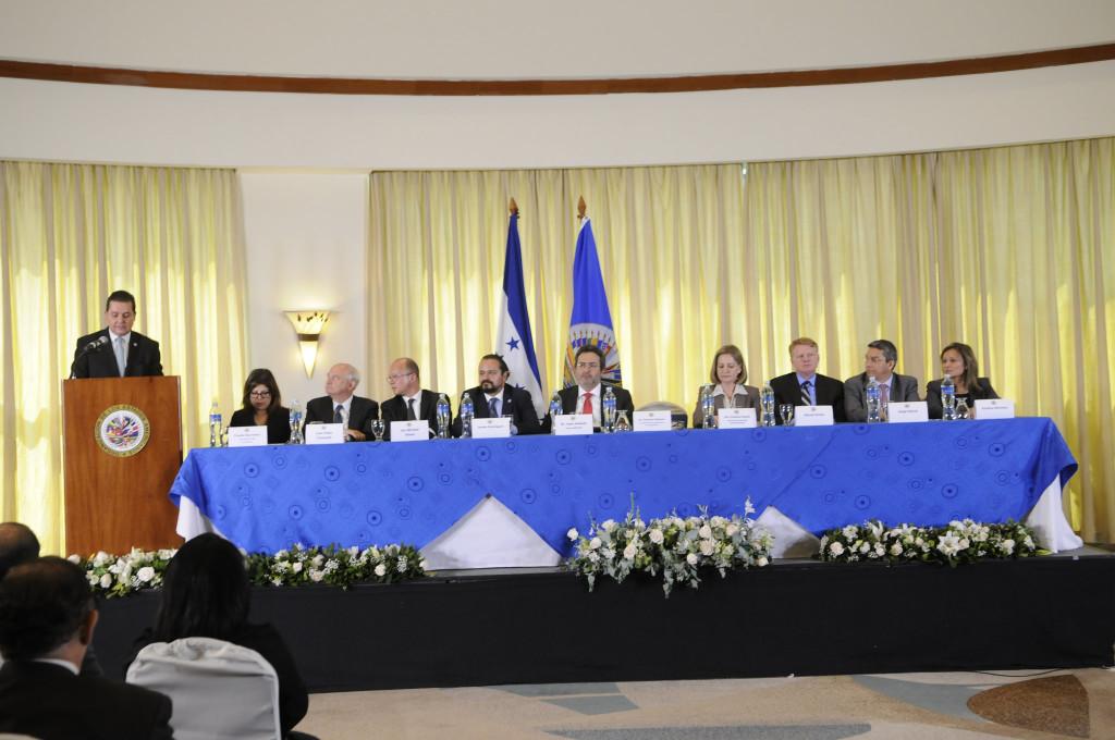 Presentación de la MACCIH en Tegucigalpa. (MACCIH - OEA).