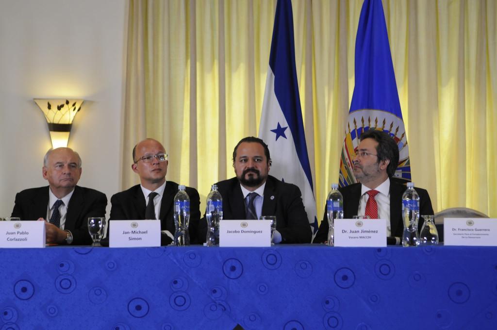 Presentación de la MACCIH en Tegucigalpa. (MACCIH - OEA)