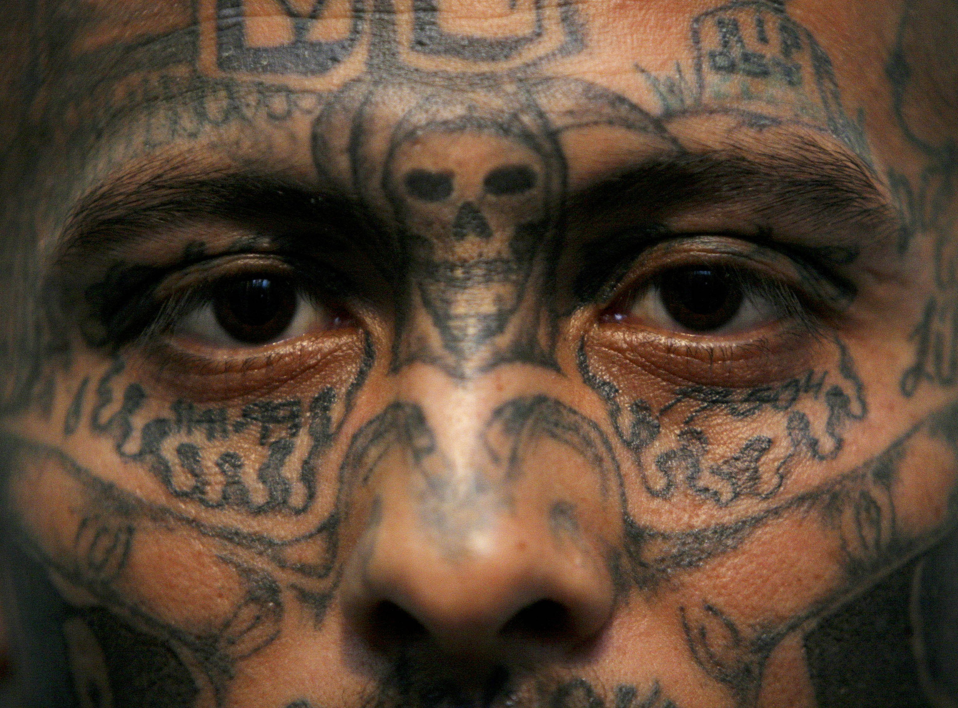 ms-13 member tattoo