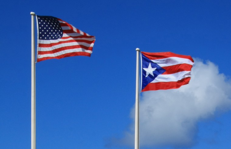 Flags_of_Puerto_Rico_and_USA