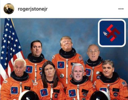 Roger Stone, Donald Trump, Space Force