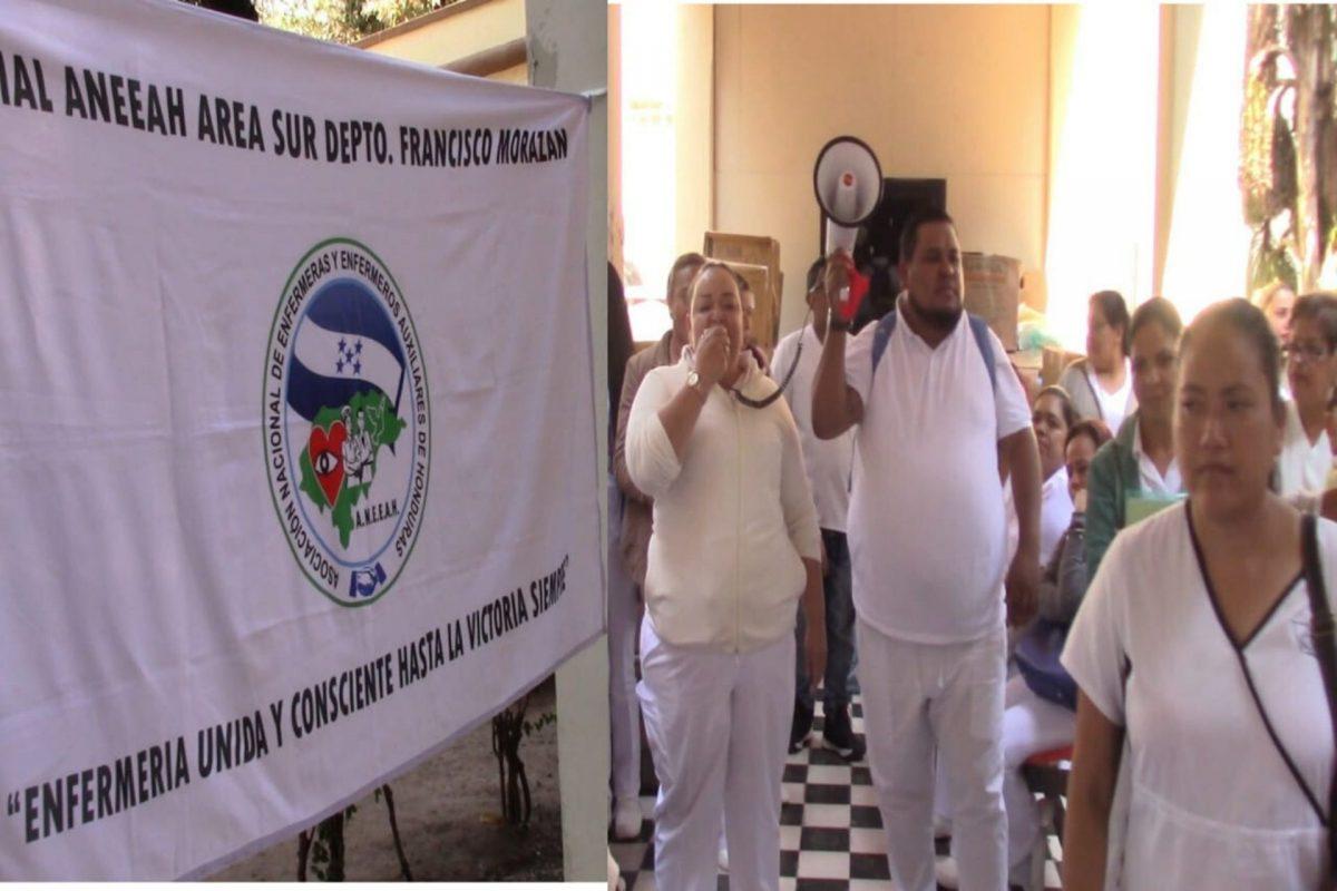 """Enfermeras Auxiliares a """"Paro Laboral"""" por falta de aumento salarial"""