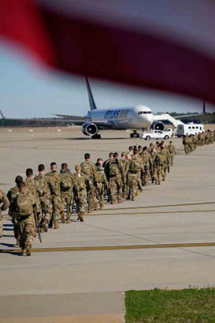 Fuerzas del orden blindan Washington para toma de posesión de Biden