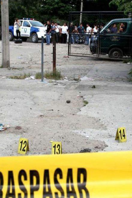 Alrededor de 66 muertes violentas en la semana pasada