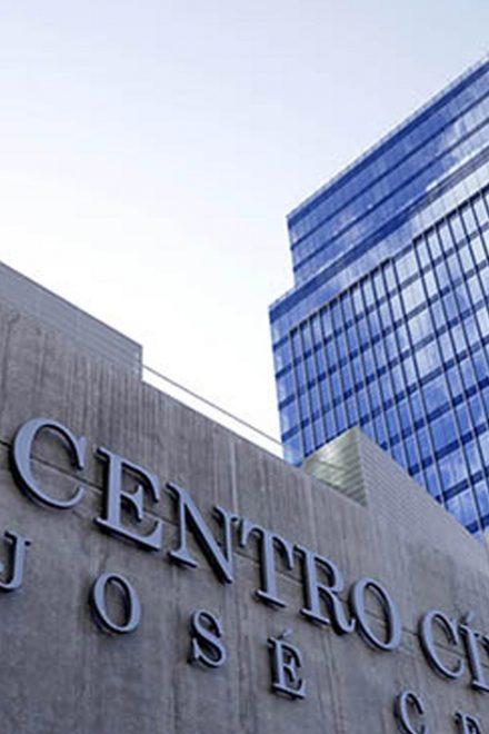 Comienzan a ocupar Centro Cívico Gubernamental