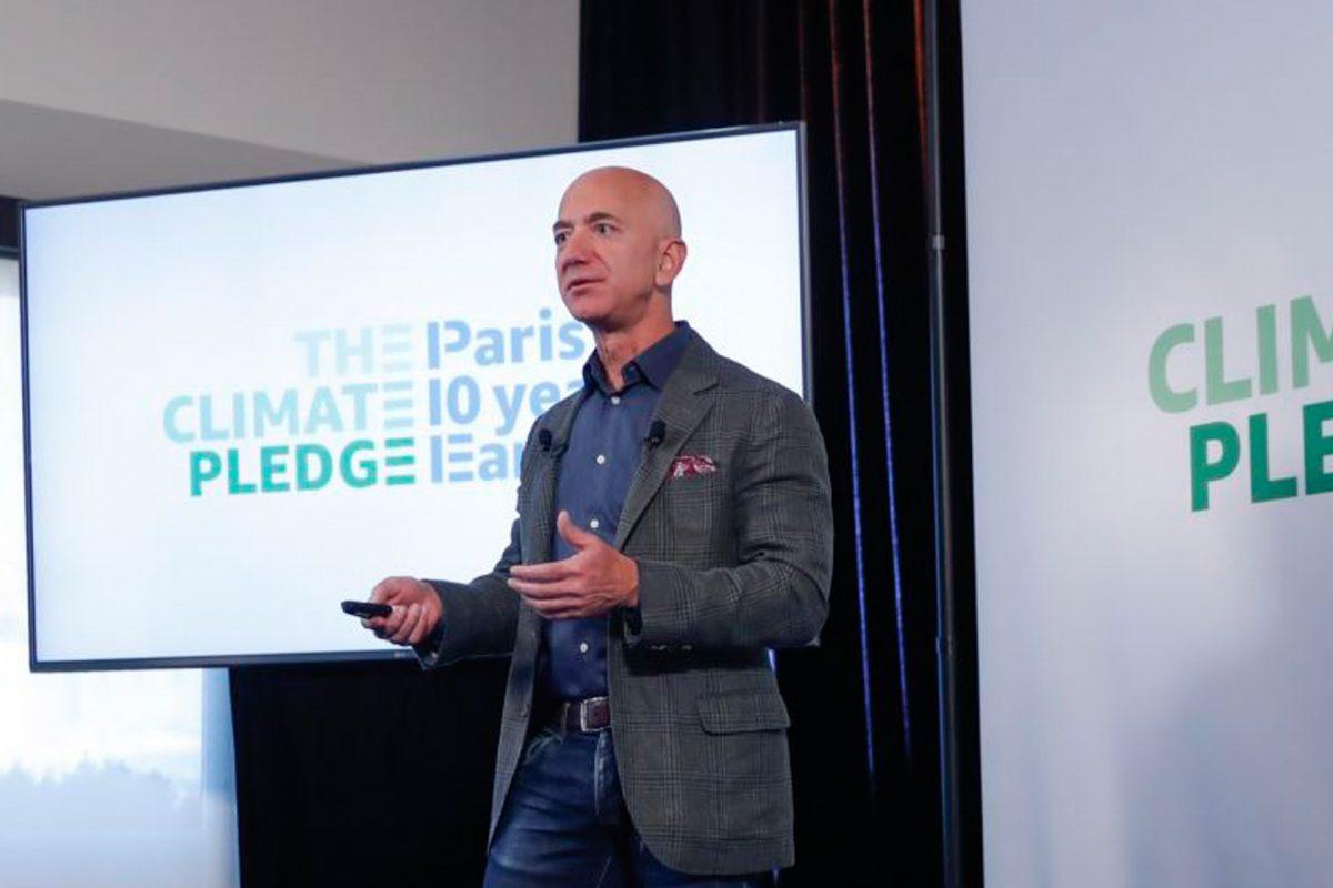 Jeff Bezos lanza fondo millonario para lucha contra el cambio climático