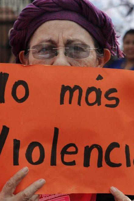 Exigen mayor inversión para atender la violencia contra la Mujer en Honduras