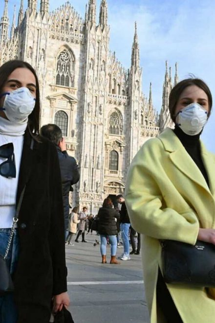 Coronavirus llega a Europa, la alarma es mundial