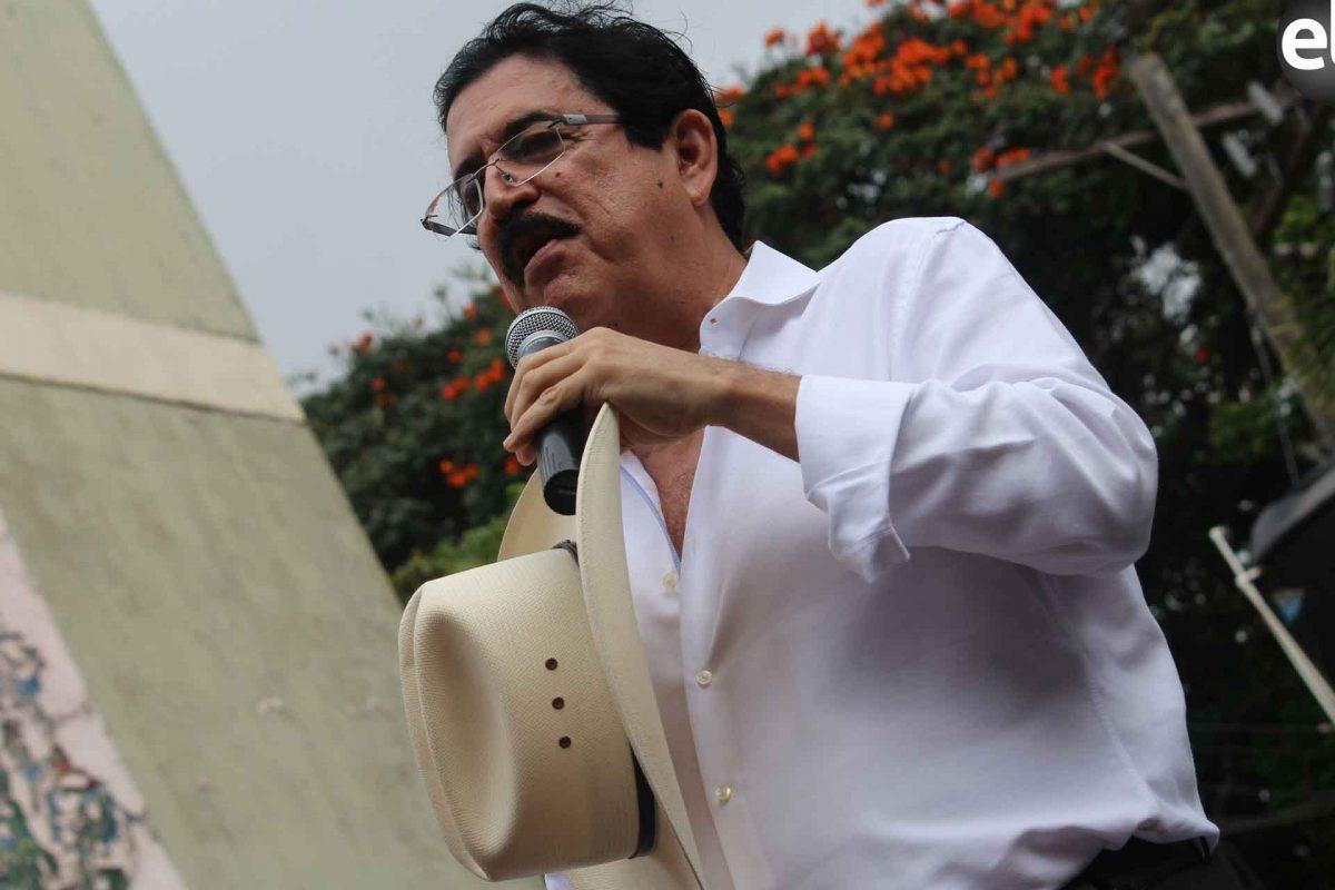 Mel Zelaya confirma avances de reformas electorales