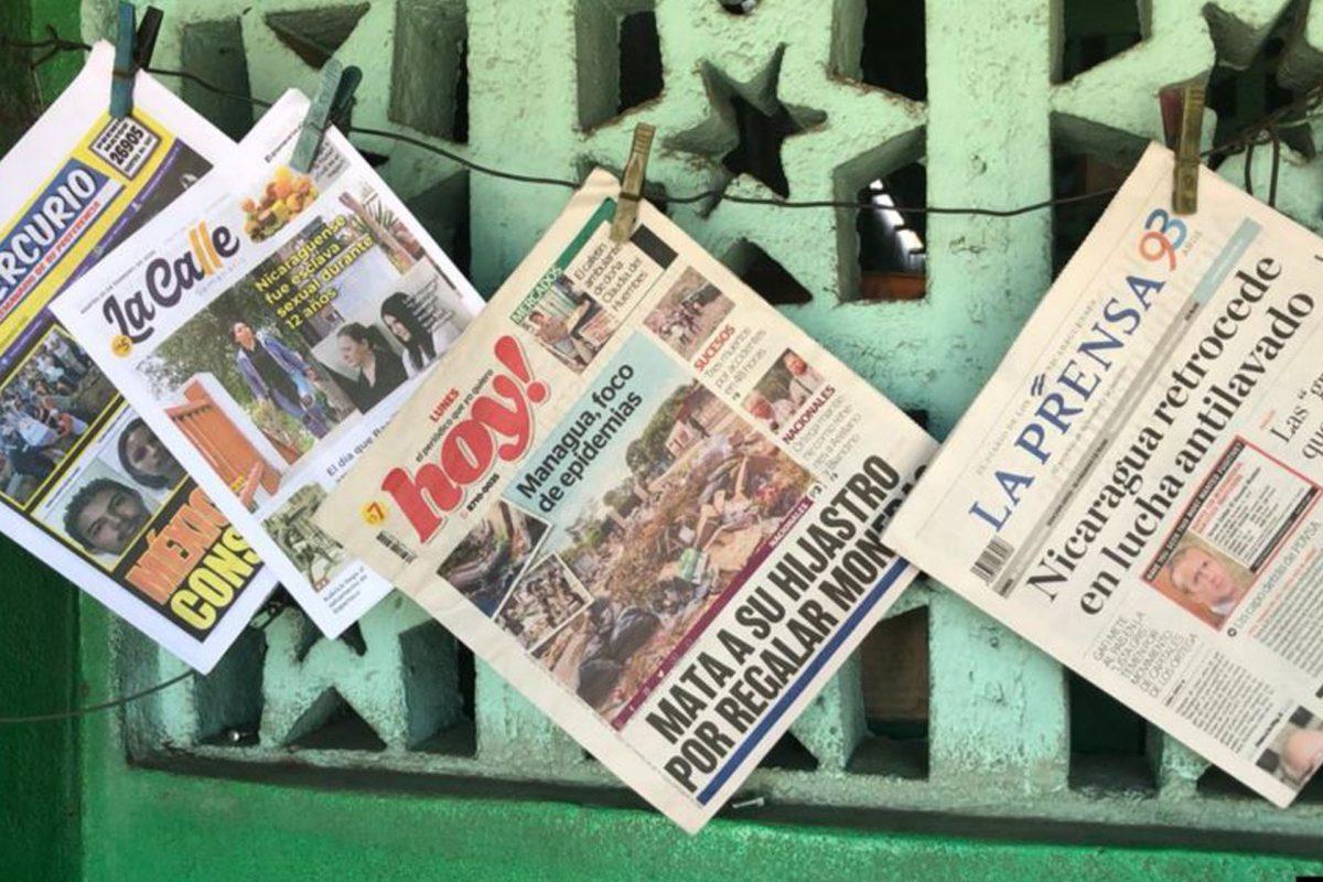 El diario La Prensa se recupera lentamente en Nicaragua
