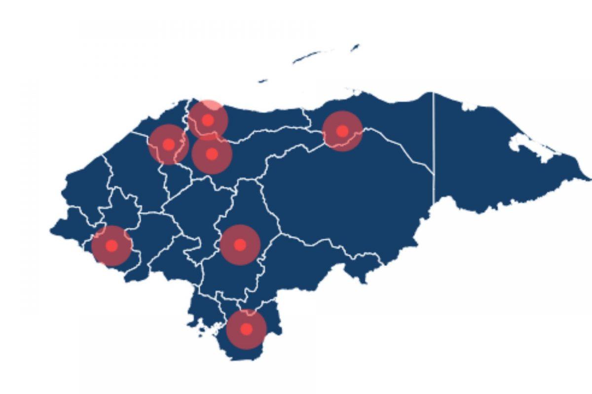 De 18 de departamentos, 11 no reportan casos de coronavirus
