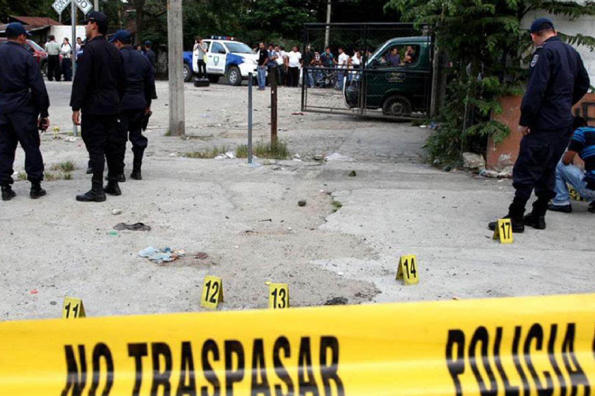 Homicidios empiezan a reducirse en Honduras