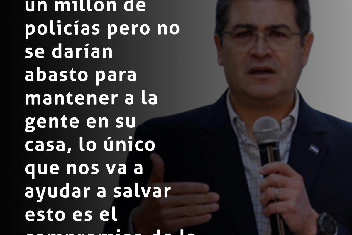 #ElPulso #Citas | Juan Orlando Hernández
