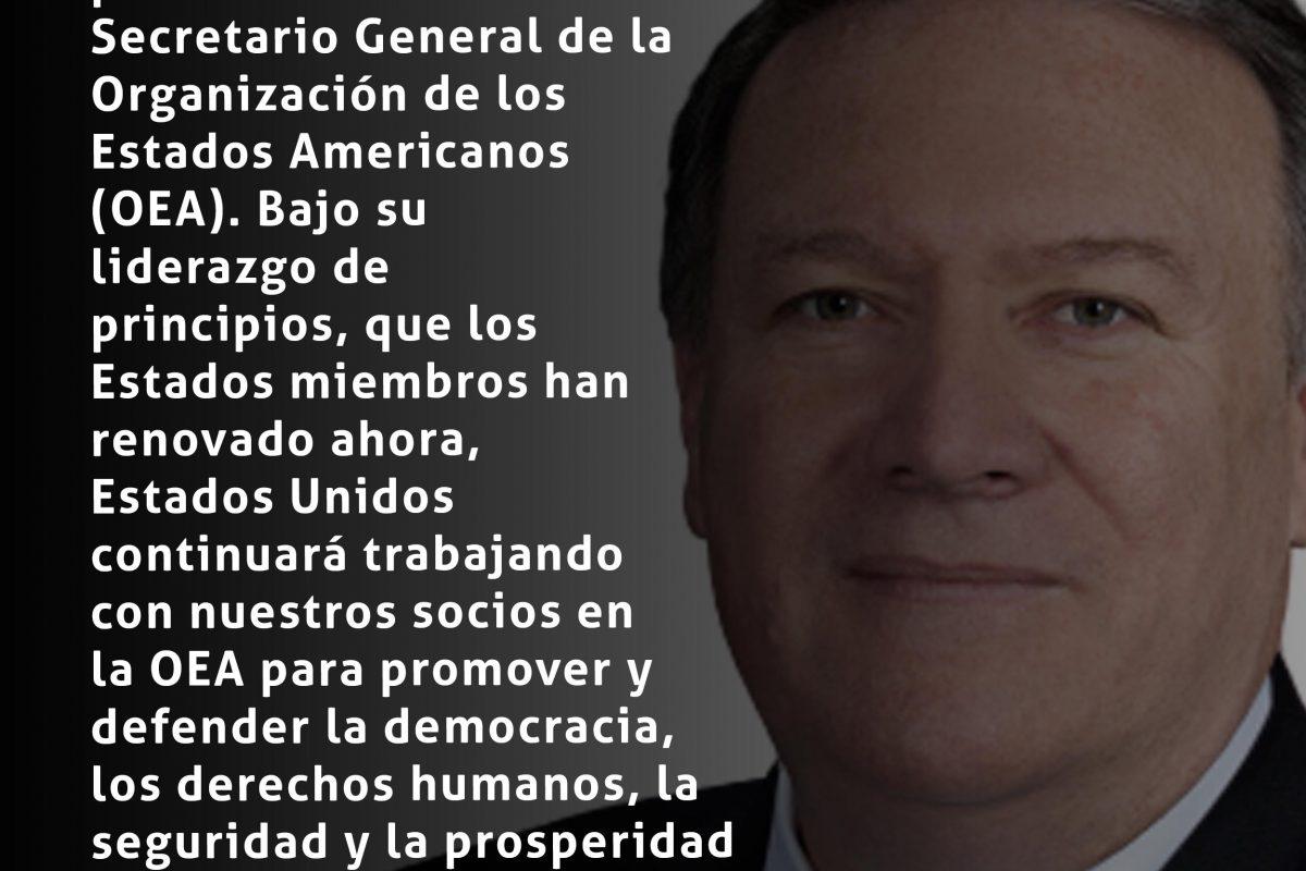 #ElPulso #Citas | Mike Pompeo