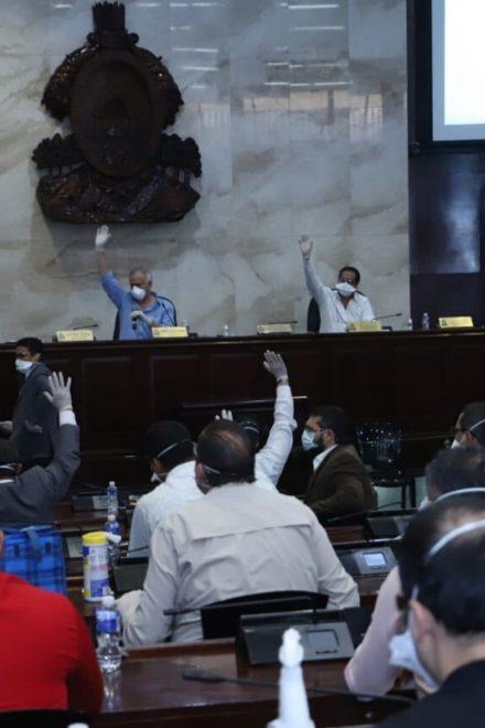 En sesión Congreso aprueba millonario endeudamiento y beneficios a Mipymes