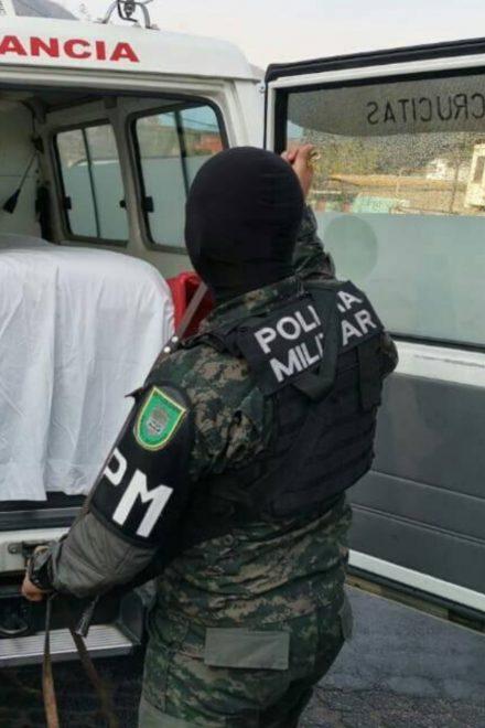 En ambulancia trasladaban droga empleados del Hospital Escuela
