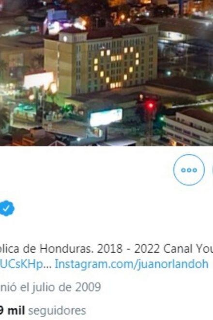 Twitter elimina 3,104 cuentas falsas en apoyo a Juan Orlando Hernández