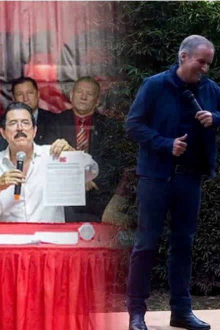 Los fantasmas de la reelección en Ricardo Álvarez y las internas en Libre