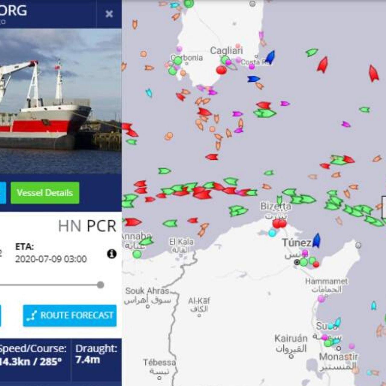 Barco con los primeros hospitales móviles llegará este día a Puerto Cortés