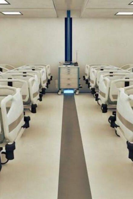 Más de 100 mil dólares es el costo por cama de los hospitales móviles