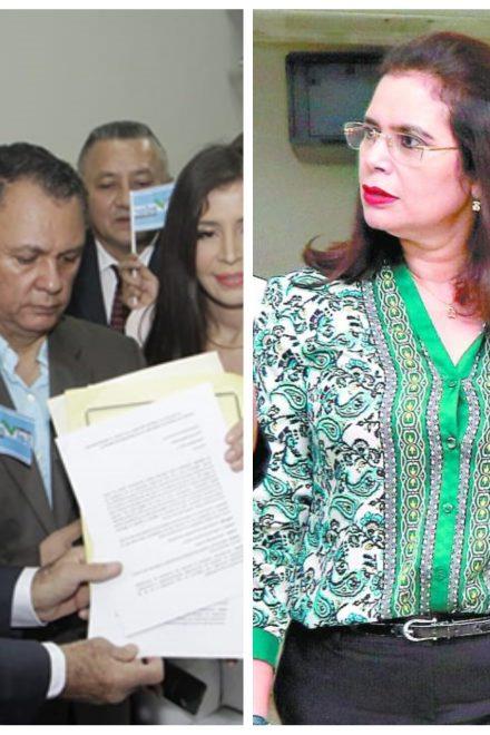 Sin claridad la inscripción de los tres nuevos partidos políticos; Rixi Moncada se pronuncia a favor