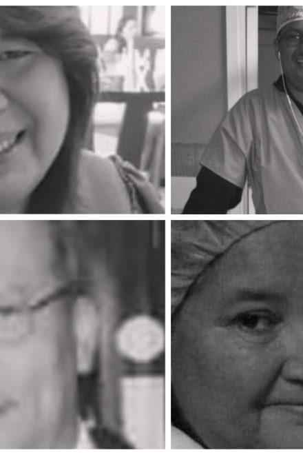 Cinco trabajadores de salud han perdido la batalla contra el covid-19 esta semana