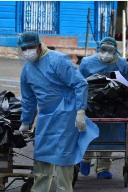 Alrededor de 170 hondureños fueron víctimas del Covid-19 la semana anterior