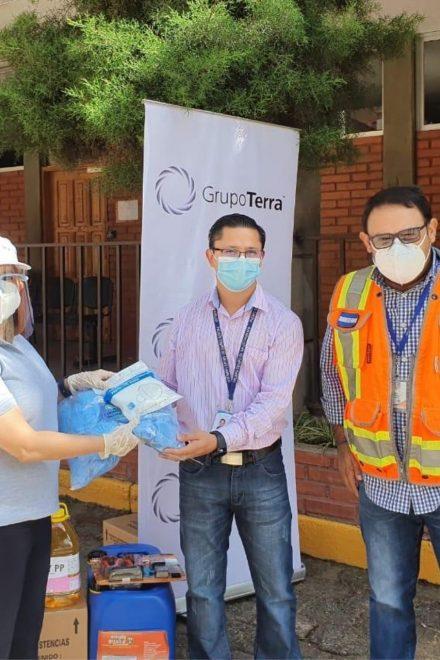 Grupo Terra continúa labor de equipamiento a los diferentes Triajes del país