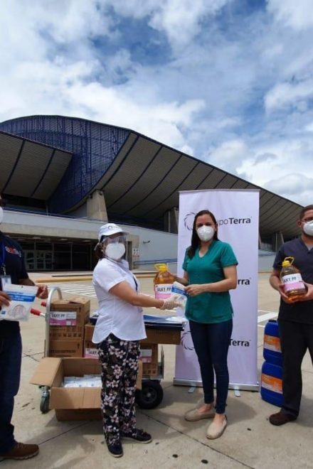 Grupo Terra continúa fortaleciendo los Centros de Triaje durante la emergencia