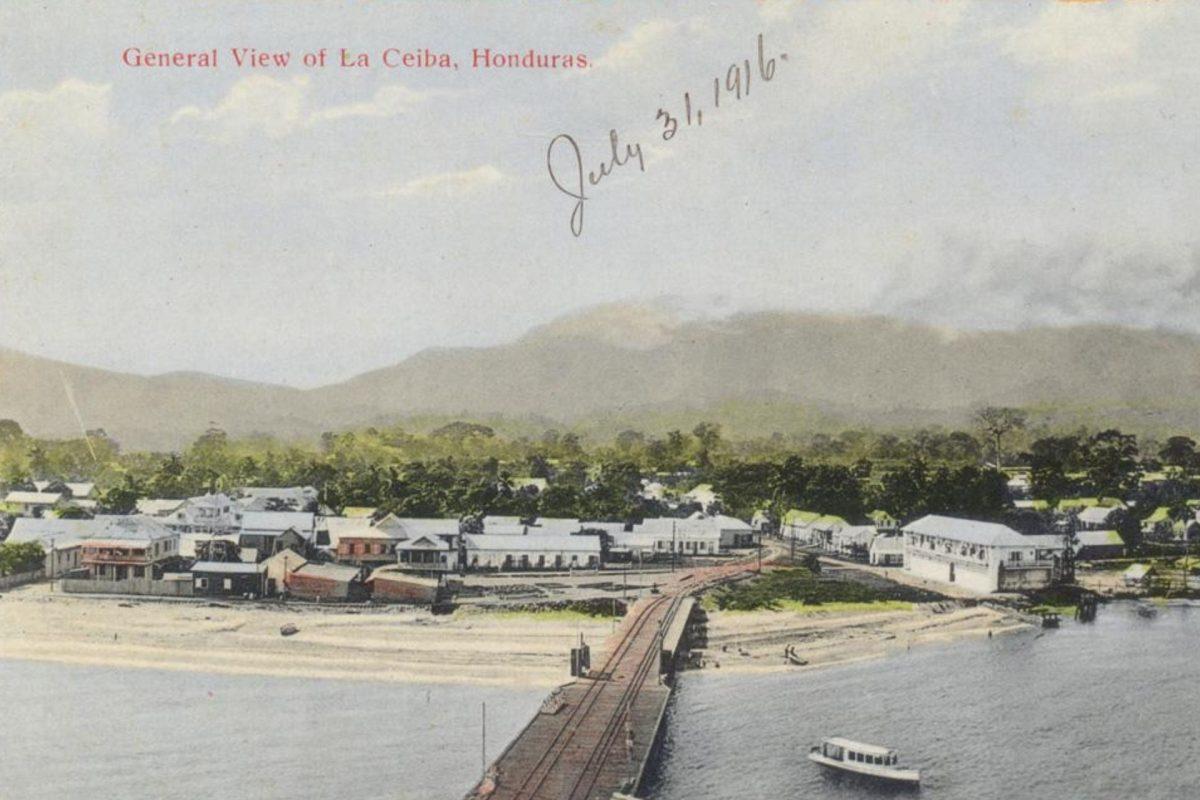 Honduras a través de las tarjetas postales