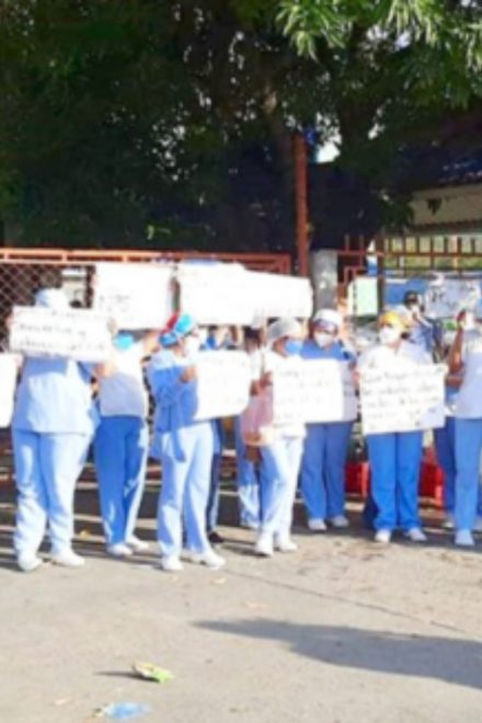 Renuncia personal de salud del Hospital Leonardo Martínez por incumplimiento de pagos