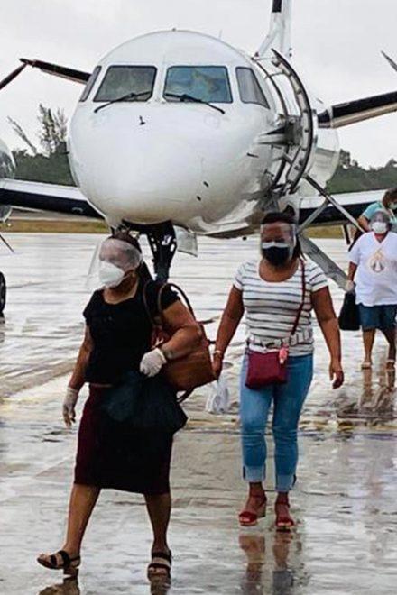 OIM facilitó retorno de migrantes varados a Honduras