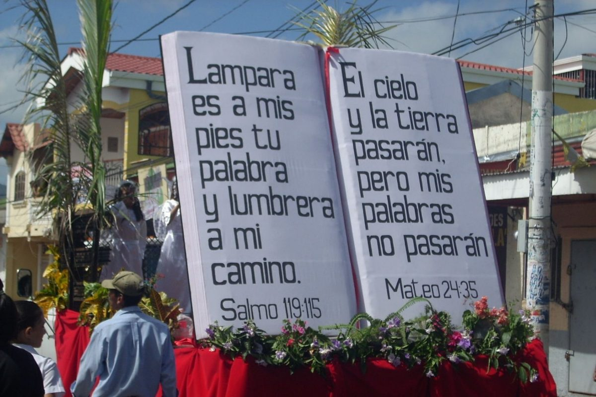 Día de La Biblia se celebrará con caravana vehicular debido al Covid-19