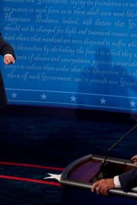 Trump y Biden protagonizan un debate marcado por las interrupciones