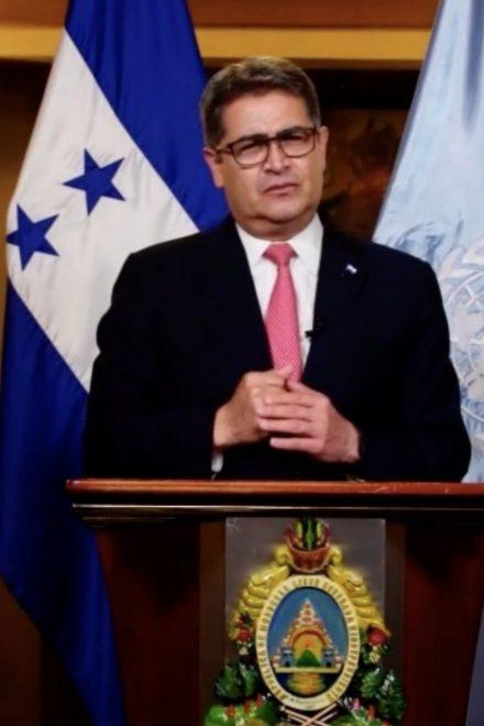 En discurso ante ONU, Juan Orlando Hernández sostuvo que pandemia ha desnudado inequidad