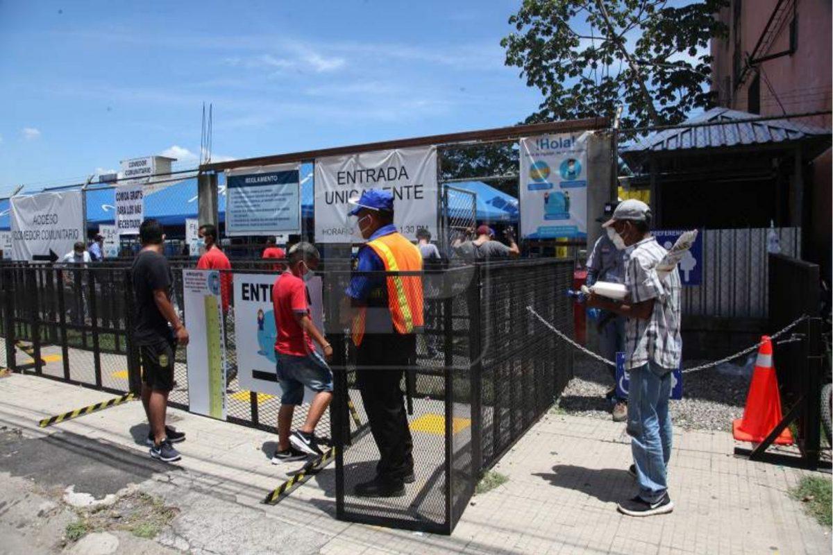 Comedor comunitario devuelven alegría a hondureños más necesitados