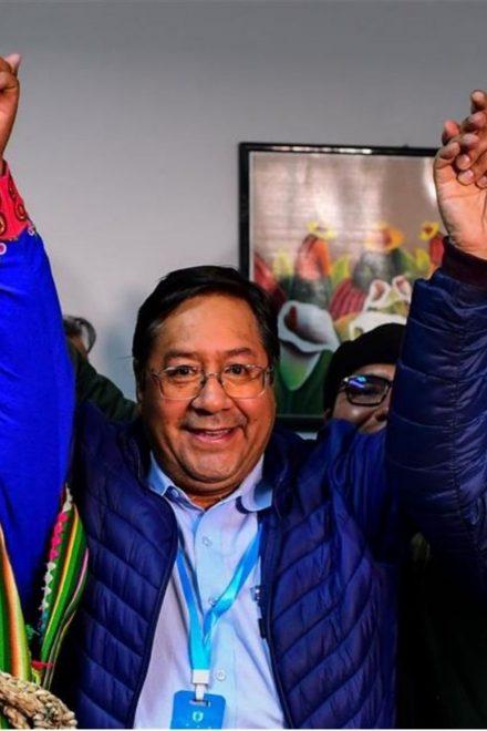 Luis Arce asumirá la presidencia de Bolivia el 8 de noviembre
