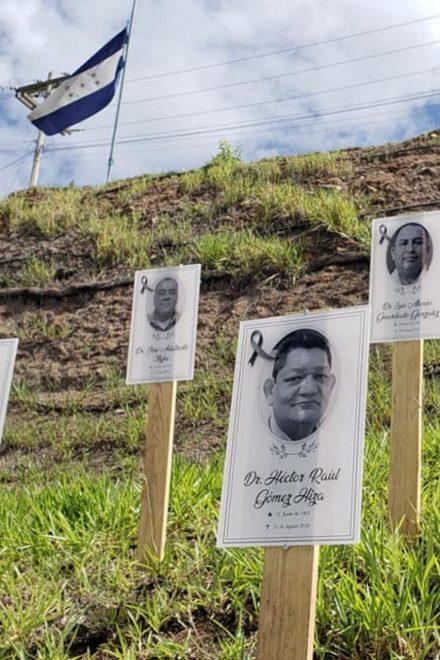 Preocupan muertes de médicos por COVID-19 en Honduras