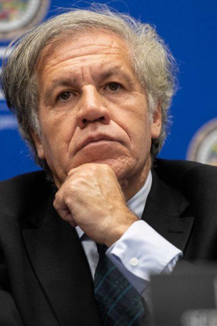 """OEA: Almagro insta """"a la solidaridad y cooperación"""" para salir de la pandemia"""