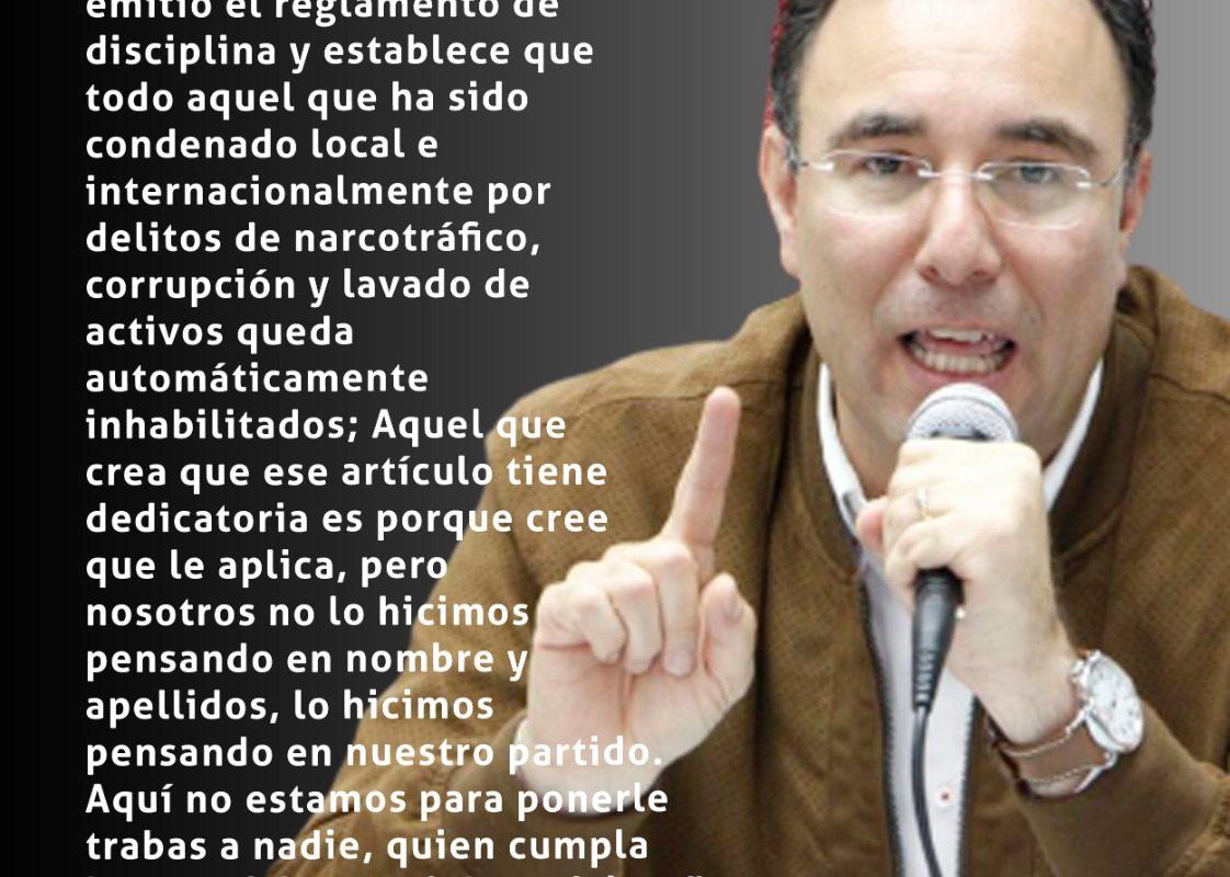 #ElPulso #Citas | El presidente del Partido Liberal, Luis Zelaya
