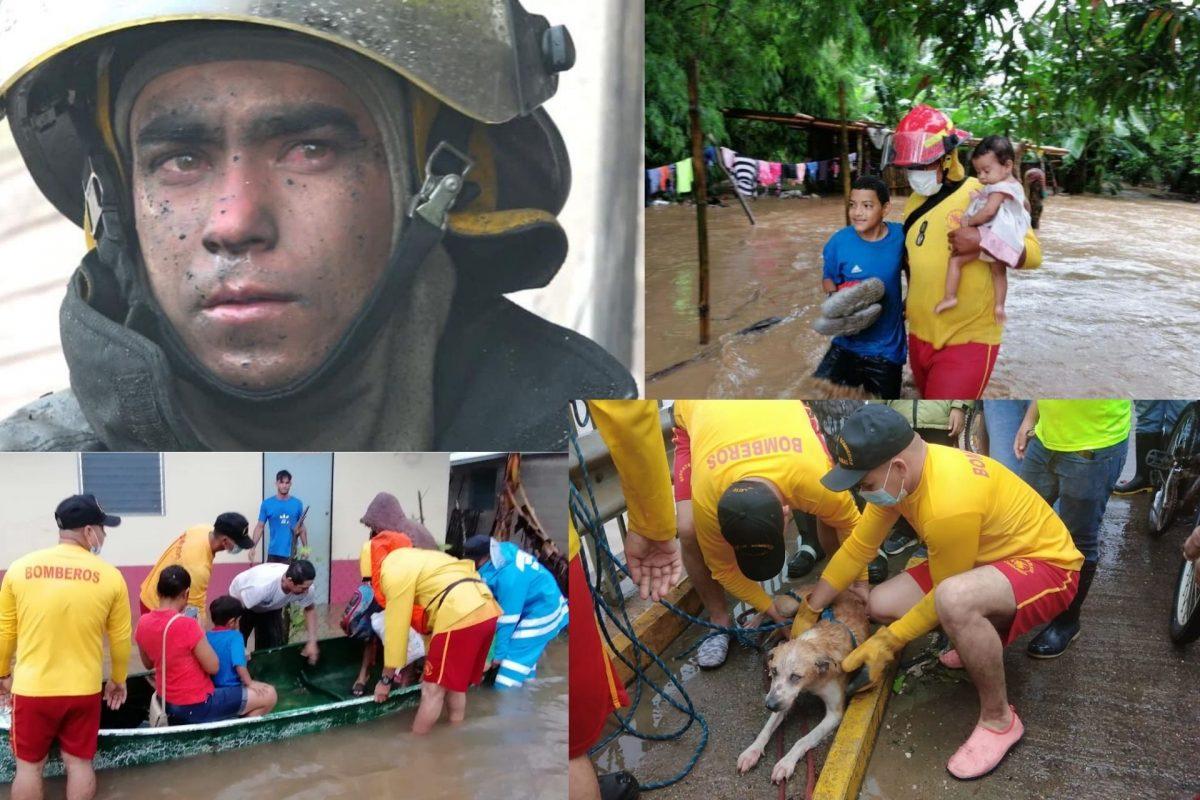 """Héroes de amarillo y rojo: """"estamos con ustedes, no vamos a parar"""""""