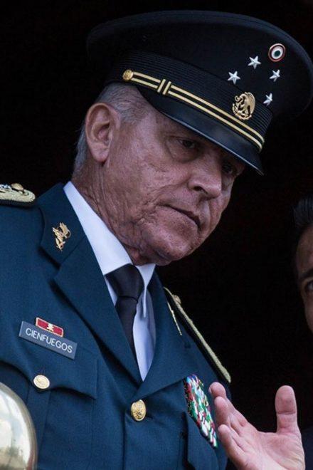 EE.UU. retira los cargos contra exsecretario de Defensa de México