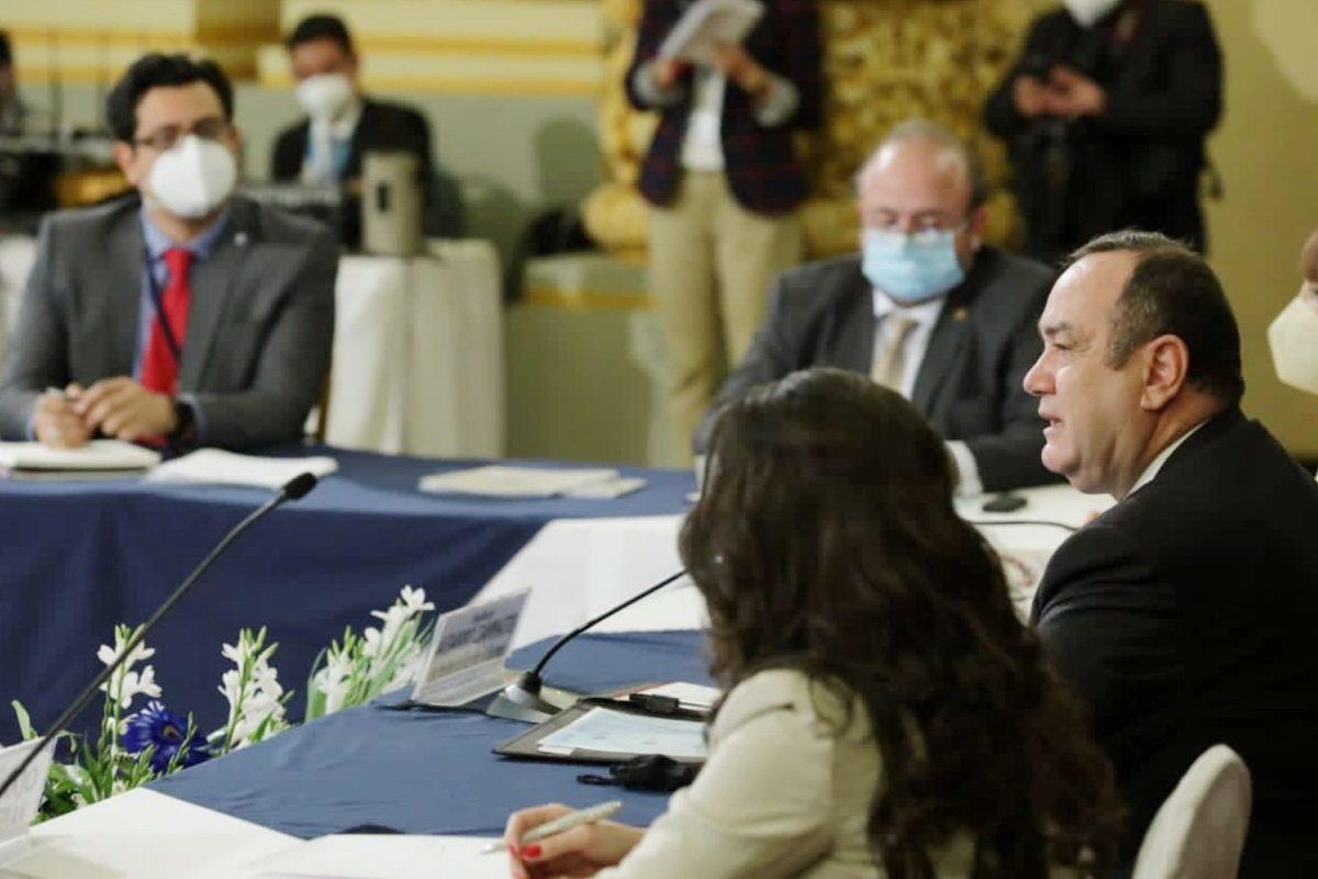 Guatemala: celebran reuniones sobre presupuesto de 2021