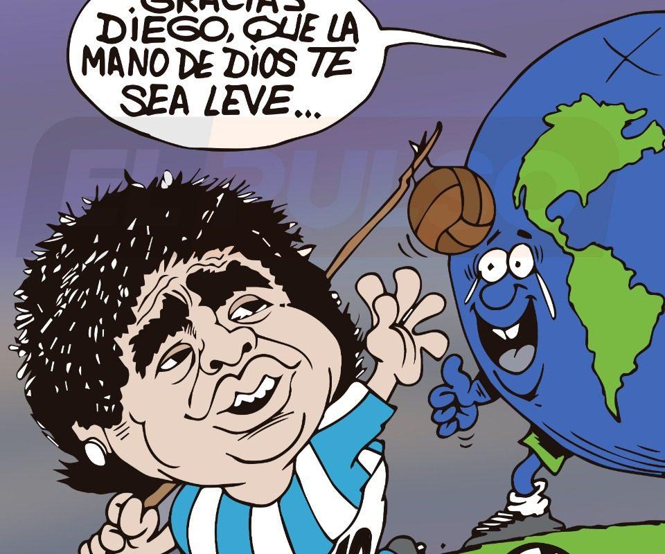 """Doumont presenta """"Adiós a Maradona…"""""""