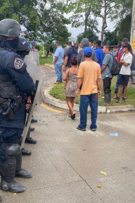 ONU y Conadeh condenan violencia de Calidonio contra pobladores de bordos de SPS